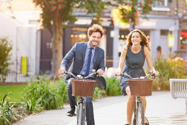 Betriebsfeier-Fahrradtour